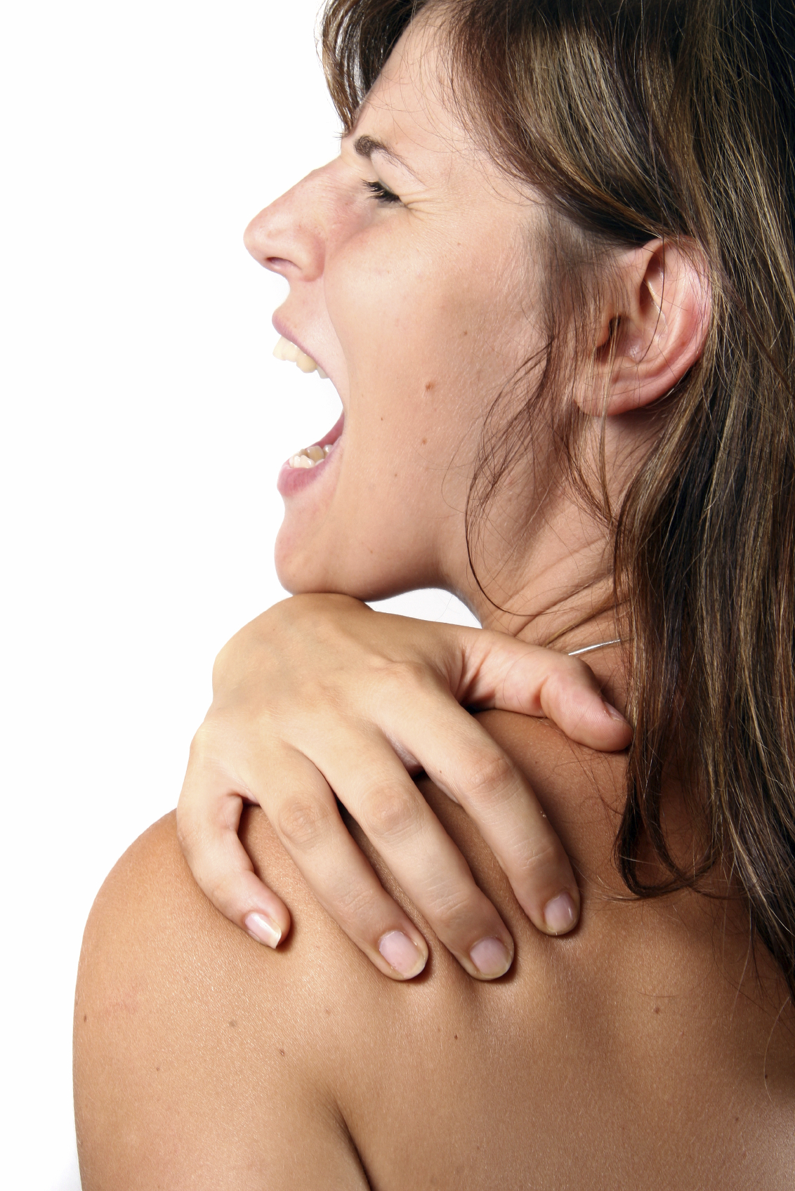 Shoulder pain from your neck